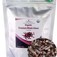 Organic premium grade hand picked whole cloves (3.5 oz), finest quality.