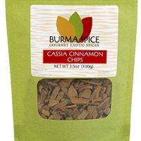Cassia Cinnamon Chips: Pure Natural Dried Cinnamon Bark : Kosher (3.5oz)
