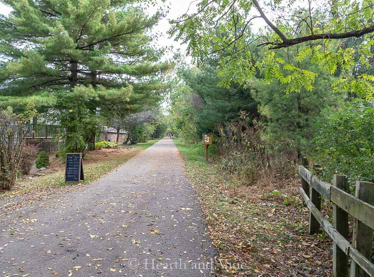 Bike trail in Peters Township