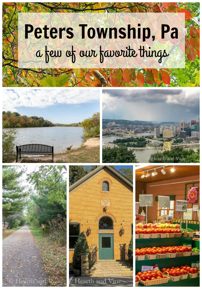 Favorite places in Peters Township Pa