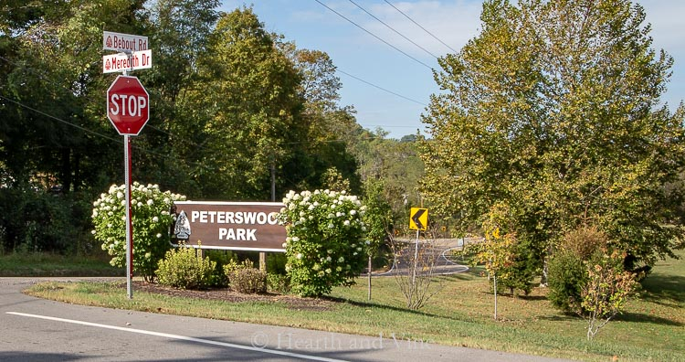 Peterswood Park Sign
