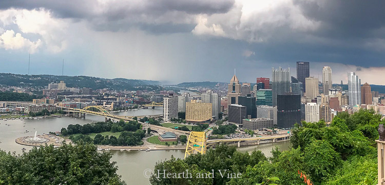 Downtown Pittsburgh from Grandview Avenue