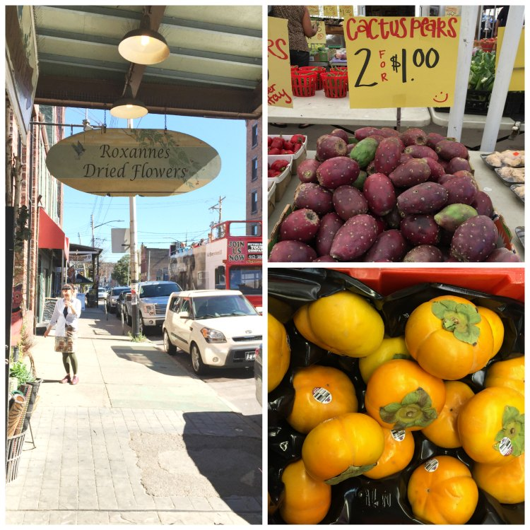 Strip district and produce