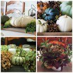 Four Thanksgiving centerpieces
