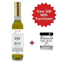 White Truffle Oil with a Gift of White Truffle Salt