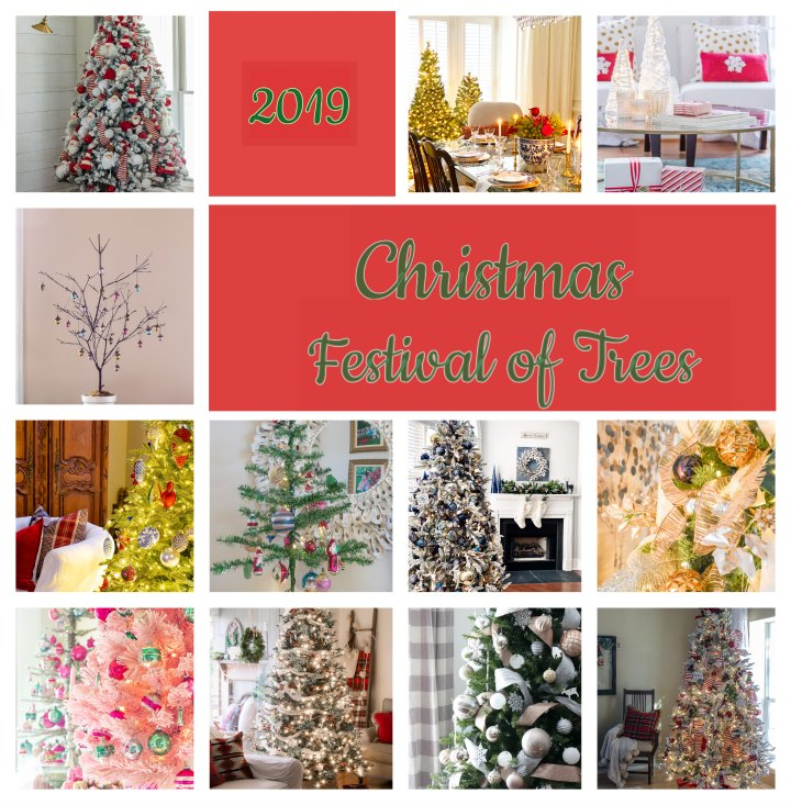 Collage of Festival of Trees