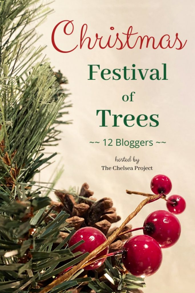 Sign for Festival of Trees