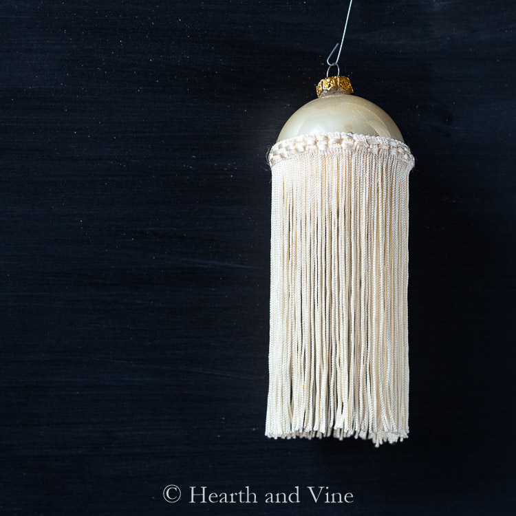 Fringe ornament
