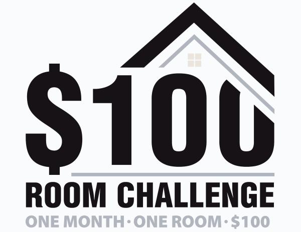 $100 room challenge logo