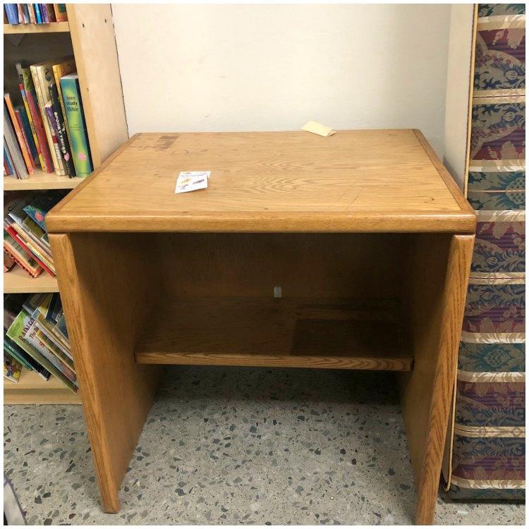 Oak Goodwill desk