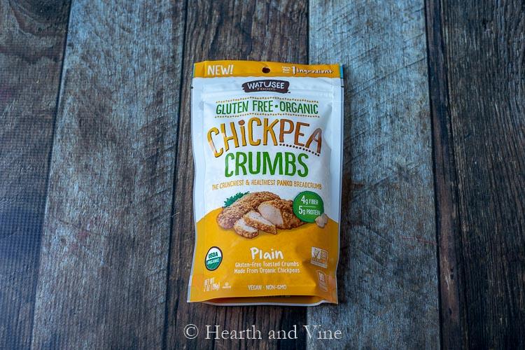 Chickpea crumbs