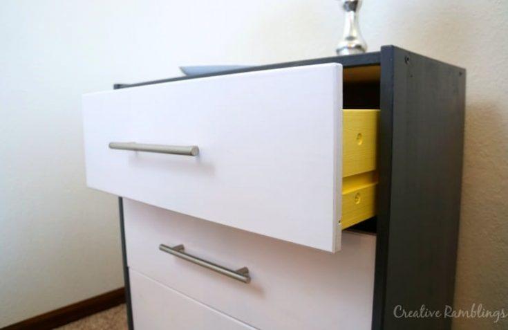 Contemporary Ikea Rast Hack