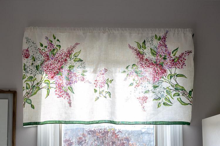 Lilac curtain