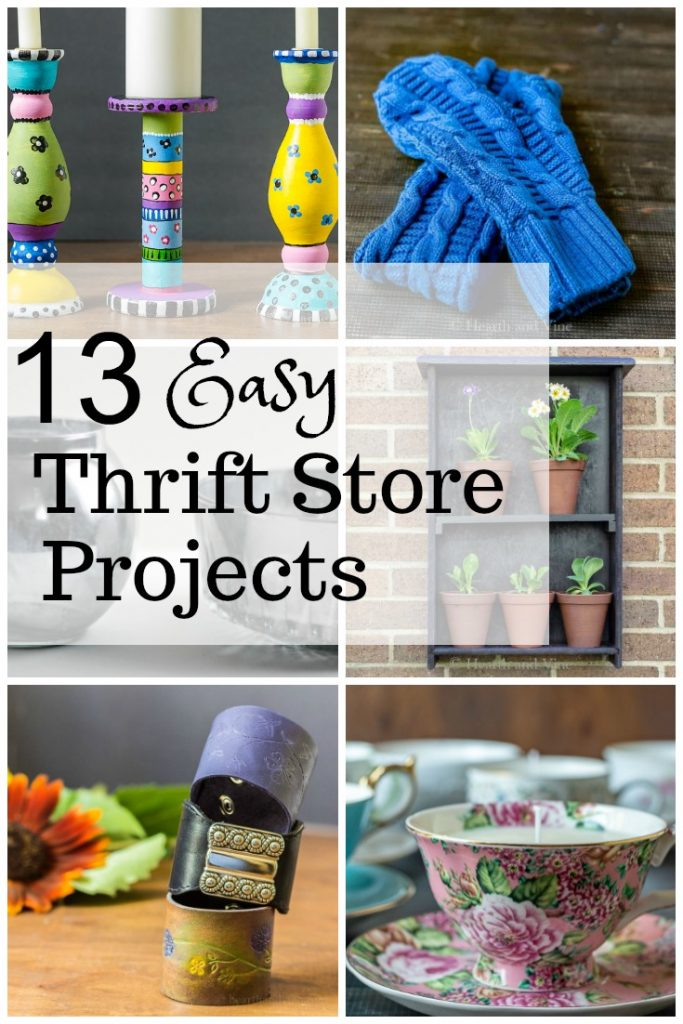Gallery of thrift store repurposed projects