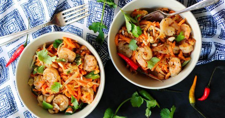 Paleo Shrimp Pad Thai