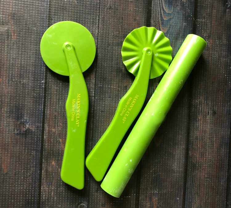 Plastic clay tools
