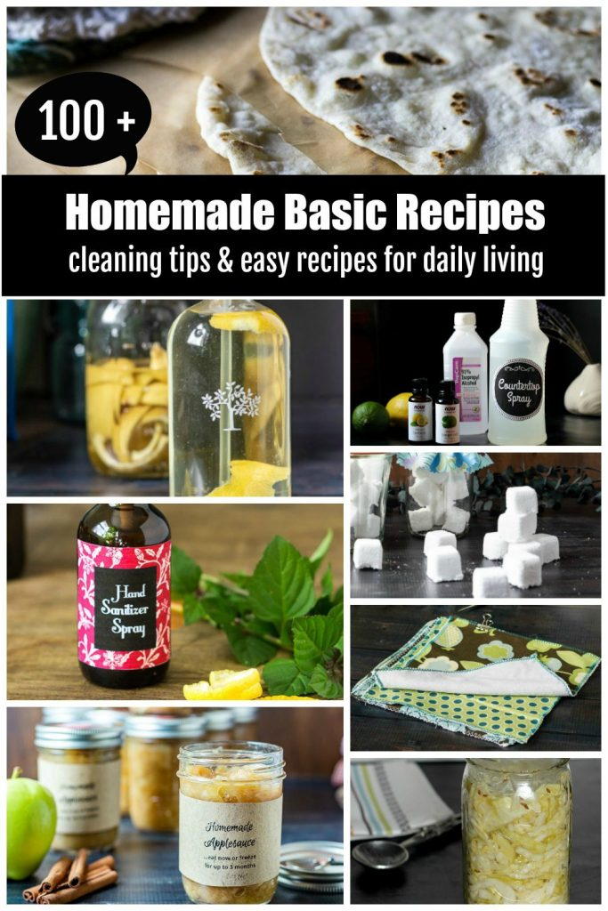 homemade recipes and tips