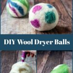 Gallery of homemade dryer balls process images