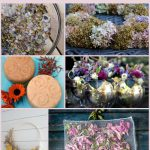 Grid of dried flower project images.
