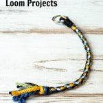 Loom wheel keychain