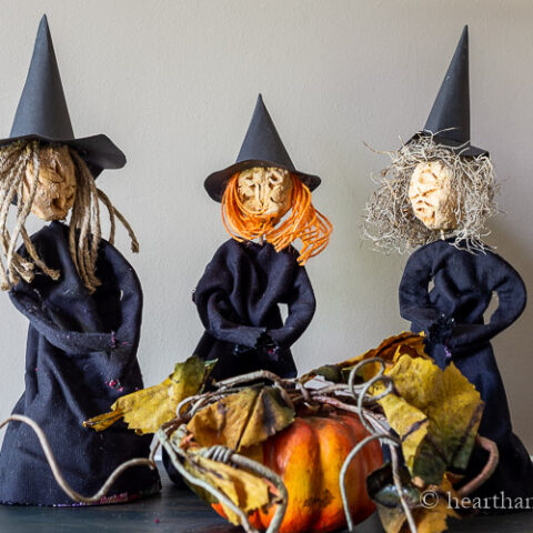 apple head witches