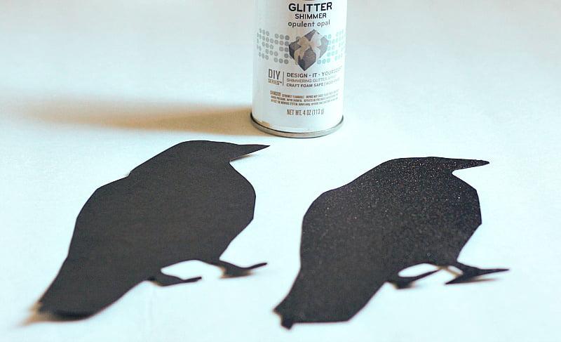 Black bird cut outs