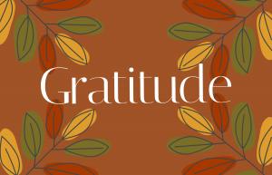 Gratitude printable for the jar.