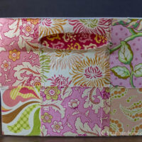 Fabric Covered Plastic Drawers with Mod Podge