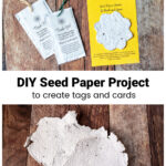 Seeded paper gift tags and cards.