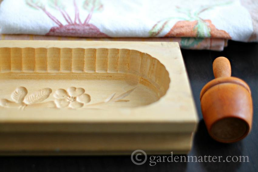 Antique Butter Molds ~ gardenmatter.com