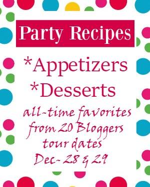 Favorite Party Recipes Graphic