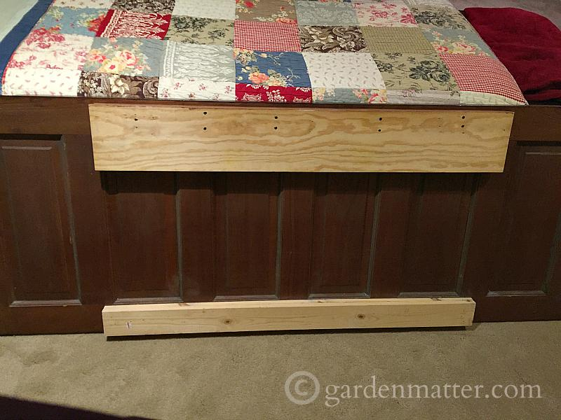 Old Door - Door to Headboard - gardenmatter.com