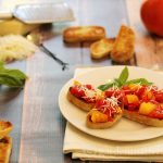 Summer tomatoes make this simple bruschetta recipe one you will want to make over and over again.