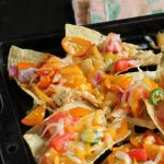 This recipe for Easy Chicken Nachos uses low acid tomatoes that work well with spicy peppers and other garden veggies.
