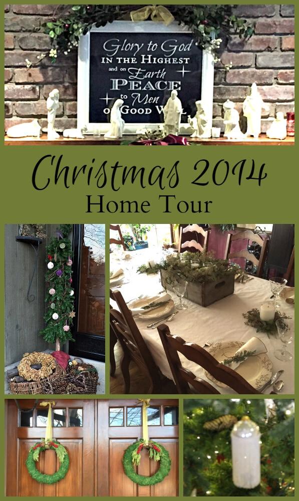Christmas 2014 Home Tour ~gardenmatter.com