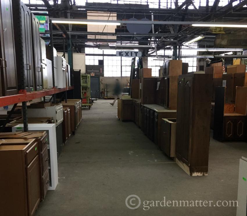 Construction Junction Cabinets~DIY Office Desk ~ gardenmatter.com