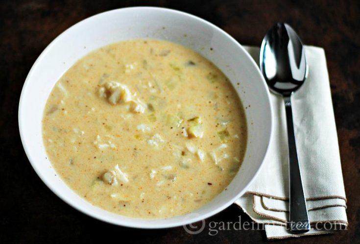 Easy Cream of Crab Soup