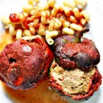 Slow Cooker Italian Meatball Stuffed Pepper Recipe