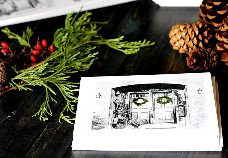 Custom Christmas Card feature - gardenmatter.com