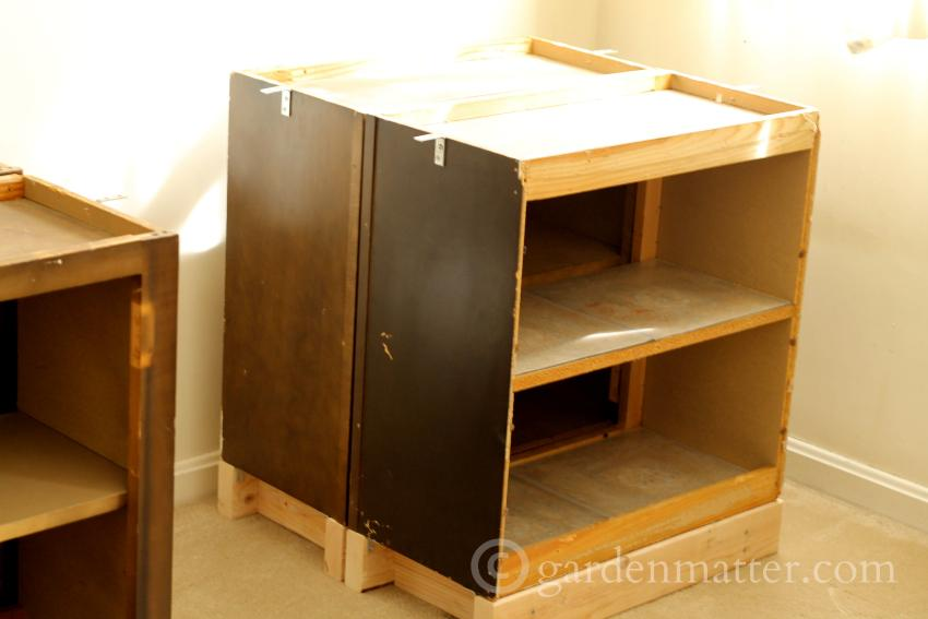 DIY Desk cabinets ~DIY Office Desk ~ gardenmatter.com