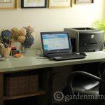 DIY Desk cabinets ~gardenmatter.com