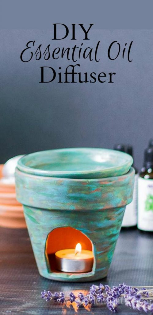 This diy essential oil diffuser is easy to make. For a few dollars you can have your home smelling sweet with the power of essential oils.