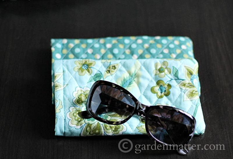 Easy Quilted Sunglass Case