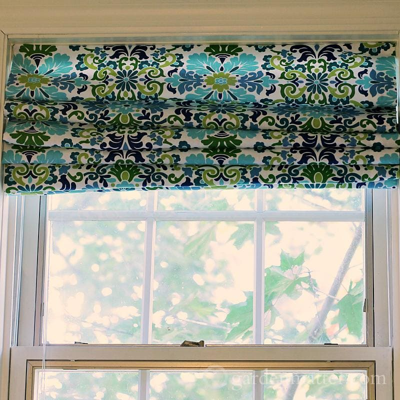 shade faux with roman mount blinds diy pin no dowels outside sew
