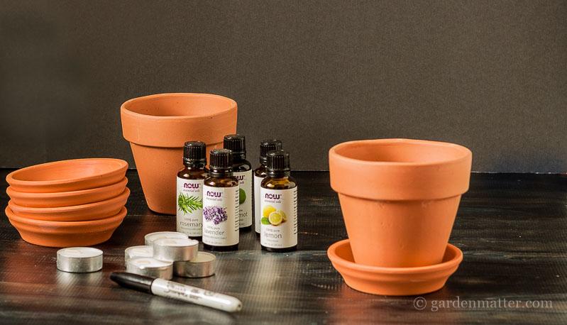 materials ~DIY Terracotta Diffuser ~ gardenmatter.com-1