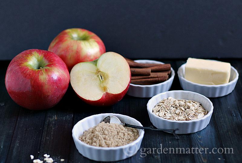 Learn how to make this simple, easy no bake apple crisp treat, that you can put together in about 5 minutes.