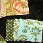 Fabric Card Holders - Charm fabric squares
