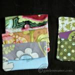 Fabric Card Holder tutorial ~ gardenmatter.com