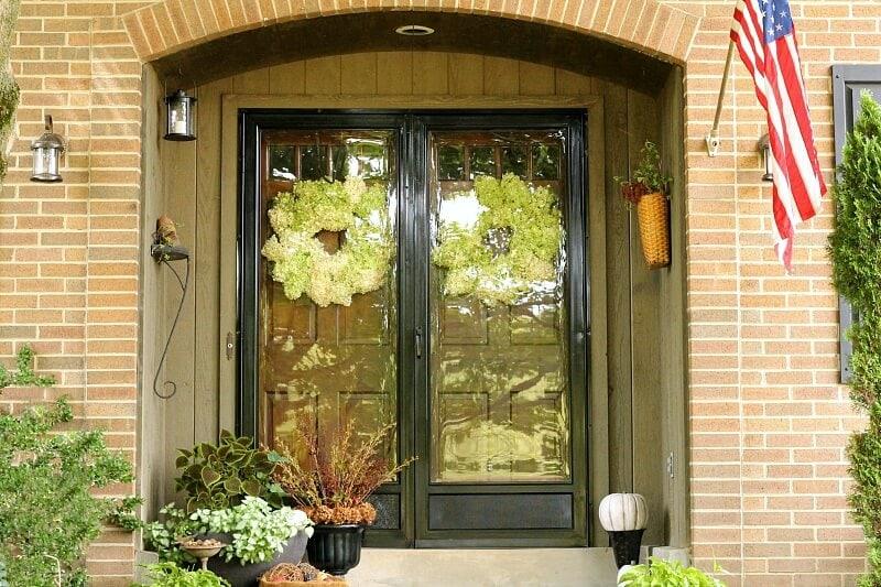 Fall Home Tour - front door