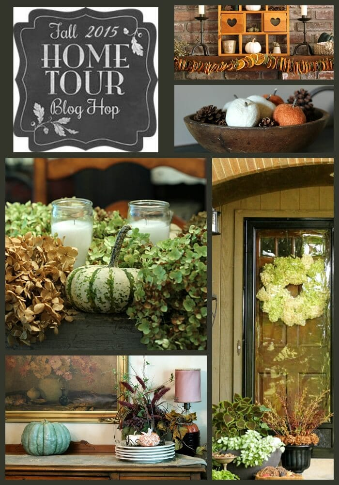 Fall Home Tour - Lots of easy ideas to inspire.